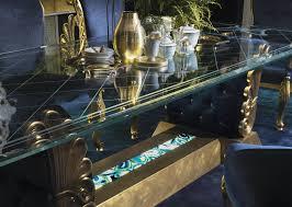 Rococo Interiors Dubai Rococo Style Dining Room Classic Italian Home Furniture