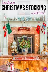 christmas stocking craft kits keepsakes to treasure forever