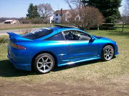 modified mitsubishi eclipse 1995 mitsubishi eclipse gsx for sale sturgis michigan