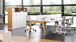 bureau free bureau b free table de travail steelcase