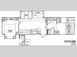 crossroads fifth wheel floor plans used 2008 crossroads rv cruiser cf31qb fifth wheel at general rv