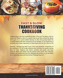 fast and thanksgiving cookbook 100 instant pot and crock