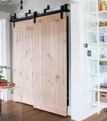 Sliding Closet Doors Barn Style by Bar Barn Door Closet Doors