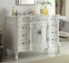 Antique White Makeup Vanity Vintage Bathroom Vanity Sink Style Giving The Antique 29 Inch