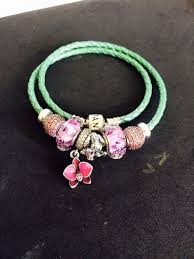 braided leather bracelet with charms images 125 best pandora braided leather bracelets with charms images on jpg