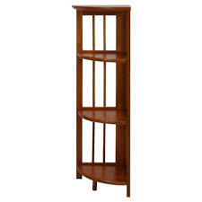 Discount Solid Wood Bookcases Corner Bookcase Target