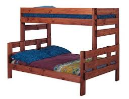 Wood Twin Over Full Stackable Bunk Bed Frame - Solid wood bunk bed