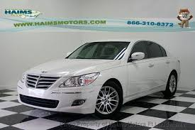 hyundai genesis sedan 2009 2009 used hyundai genesis 4dr sedan 3 8l v6 at haims motors