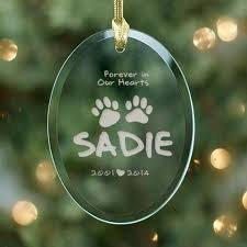 personalized memorial ornaments