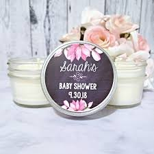 candles and favors customized baby shower candle favors thank you baby shower