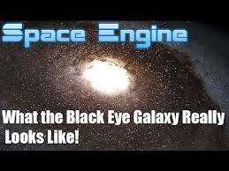 M64 The Blackeye Galaxy What The Black Eye Galaxy Really Looks Like 4k Space Engine