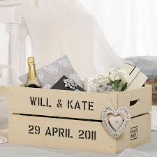 wedding gift personalised personalised apple crate planter anniversary gettingpersonal co uk