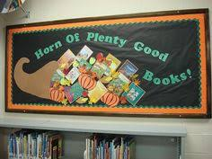 thanksgiving library bulletin board what books are you thankful