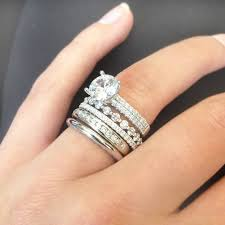stackable wedding rings stackable wedding bands white gold tags stacking wedding rings