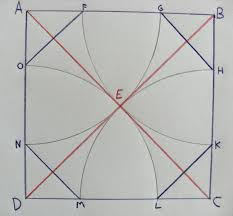 to inscribe an octagon in a square math on the mckenzie