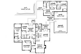 House Plans With Attached Guest House Home Plans With Guestse Floor Luxury Ranch Custom Attached Guest