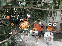 aliexpress buy free shipping 4pcs iron ornaments garden