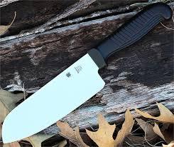 spyderco kitchen knives spyderco k08pbk santoku kitchen knife 7 mbs 26 ss plain blade