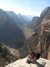 thanksgiving trip to zion national park rock climbing and