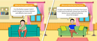 Buy A Couch Online Online Furniture Rental Packages In Mumbai Truecouch