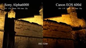 sony a6000 low light cool sony a6000 vs canon eos 600d low light video check more at