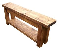 Rustic Storage Bench Pine Entry Bench Reclaimed Barn Wood Entryway Bench Random