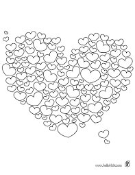 free valentine pictures color heart coloring pages 91 inspiring