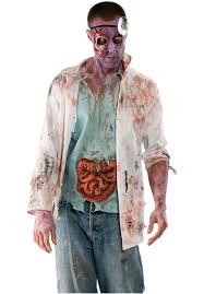 Doctor Costume Halloween Walking Dead Costumes Men Women Kids Parties Costume