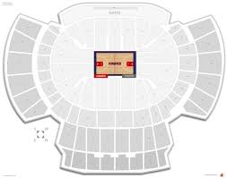 philips arena seating chart with rows and seat numbers philips
