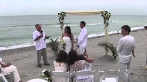 small wedding ceremony turtle florida small wedding ceremony