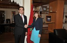 bureau d immigration australie au maroc abdelkrim benatiq reçoit les ambassadeurs d australie et de chine