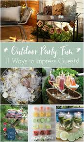 Outdoor Party Decorations by 194 Best Party Planning Decor U0026 Favors Images On Pinterest