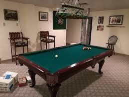 Used Billiard Tables by 8 U2032 Used Pool Table U2013 Amf Royal Billiard U0026 Recreation