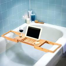 umbra aquala bathtub caddy bamboo bathtub caddy no2uaw com