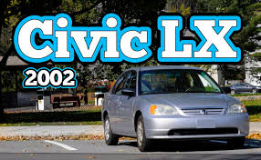 2002 honda civic reviews regular car reviews 2002 honda civic lx