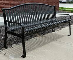 memorial bench express ship arched back memorial bench brp by bison
