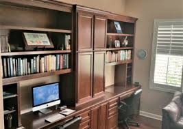 Custom Home Office Cabinets In Southern California - Custom home office designs