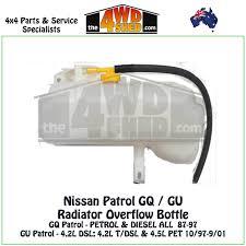 nissan patrol western australia nissan patrol gq gu radiator overflow bottle