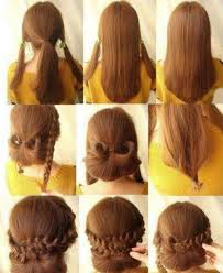easy long hairstyles updos easy romantic hairstyle for long medium