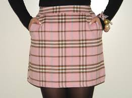 pink tartan what i wore today pink tartan mini skirt from new look cameo