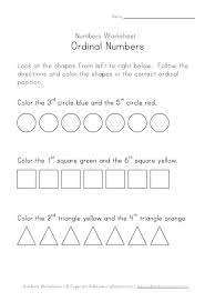 spanish ordinal numbers worksheet worksheets