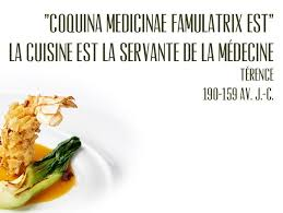 servante de cuisine la cuisine est la servante de la medecine terence citations