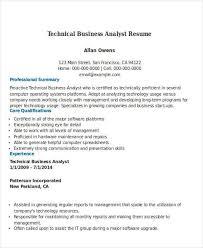 technical analyst resume technical analyst resume samples