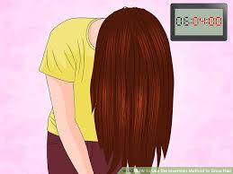 flip hair upsidedown and cut how to use the inversion method to grow hair 11 steps