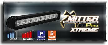 Vision X Light Bar Vision X Low Profile Xtreme Single Row Led Light Bars For Less