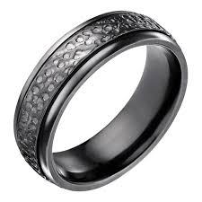 black wedding bands for men wedding rings ideas tungsten carbide men black wedding rings