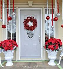 Outside Home Christmas Decorating Ideas 40 Cool Diy Decorating Ideas For Christmas Front Porch Amazing