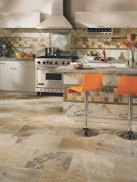 White Kitchen Floor Ideas by Pretty Kitchen Flooring Ceramic Tile Black And White Kitchen