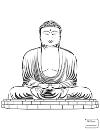 Countries Cultures Buddha Coloring Pages Abcfunkids Me Buddhist Coloring Pages
