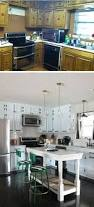 how to makeover kitchen cabinets before and after 25 budget friendly kitchen makeover ideas hative